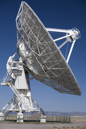 Radio telescope - reflecting our tools that help us listen and gain insight